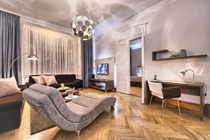 Completely renovated two bedroom Prague apartment for rent