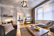 Huge three bedroom apartment rental in Prague centre