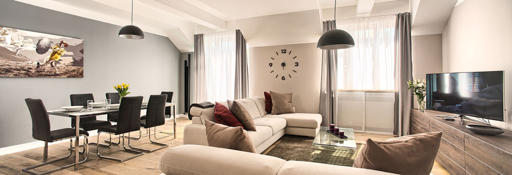 Superb Luxury Prague Apartment Long Term For Rent | Serviced Apartments In Prague