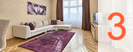 Three Bedroom Apartments rentals in Prague