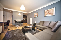 Modern and very quiet two bedroom apartment in Prague