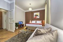 Great Prague studio rental with outstanding location