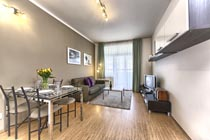 Excellent Prague one bedroom apartment rental
